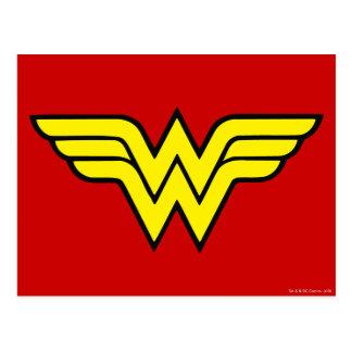 Wonder Woman | Classic Logo Postcard