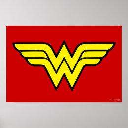 Wonder Woman | Classic Logo Poster
