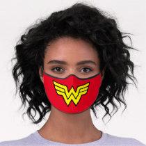 Wonder Woman | Classic Logo Premium Face Mask