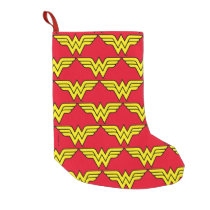 Wonder Woman | Classic Logo Small Christmas Stocking