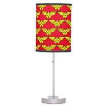 Wonder Woman | Classic Logo Table Lamp