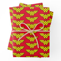 Wonder Woman   Classic Logo Wrapping Paper Sheets