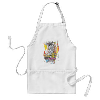 Wonder Woman Collage 1 Adult Apron