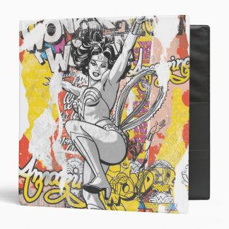 Wonder Woman Collage 1 Binder