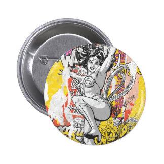 Wonder Woman Collage 1 Pin