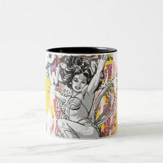 Wonder Woman Collage 1 Mug