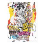 Wonder Woman Collage 1 Postcard