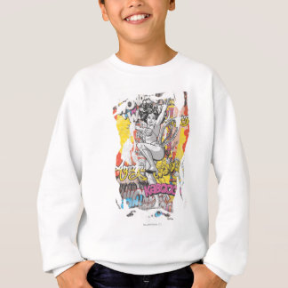 Wonder Woman Collage 1 Sweatshirt