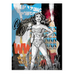 Wonder Woman Collage 2 Postcard