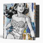 Wonder Woman Collage 4 Binder