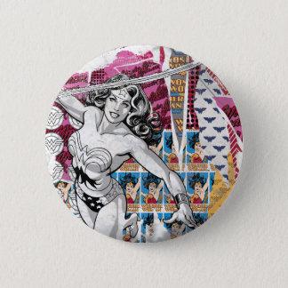 Wonder Woman Collage 5 Button