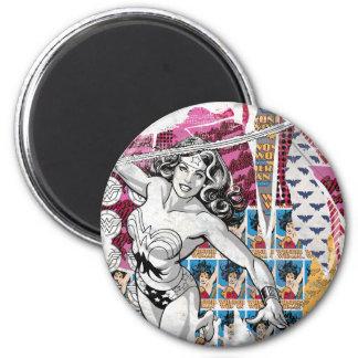 Wonder Woman Collage 5 Magnet