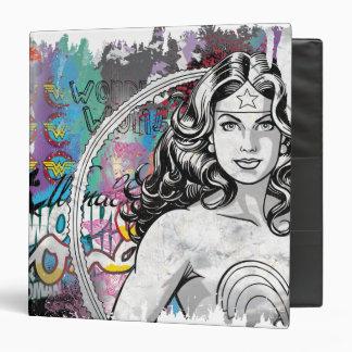 Wonder Woman Collage 6 Binder