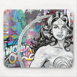 Wonder Woman Collage 6 Mouse Pad