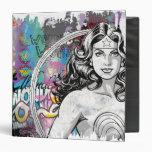 Wonder Woman Collage 6 Vinyl Binders