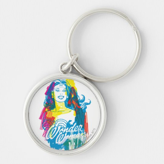 Wonder Woman Colorful 1 Keychain