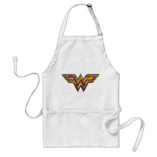 Wonder Woman Colorful Logo Adult Apron