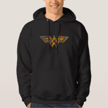 Wonder Woman Colorful Logo Hoodie