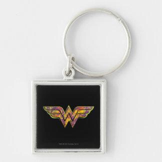 Wonder Woman Colorful Logo Key Chains