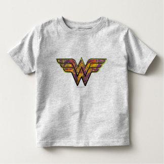 Wonder Woman Colorful Logo Toddler T-shirt