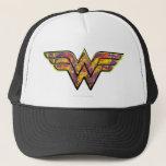 """Wonder Woman Colorful Logo Trucker Hat<br><div class=""""desc"""">Colorful</div>"""