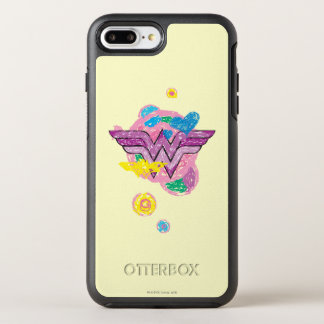 Wonder Woman Colorful Scribbles OtterBox Symmetry iPhone 7 Plus Case