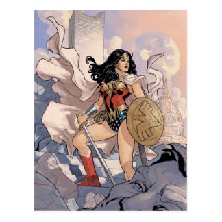 Wonder Woman Comic Cover #13 Postcard
