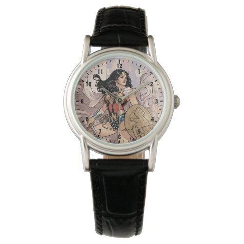 Wonder Woman Comic Cover #13 Wristwatch