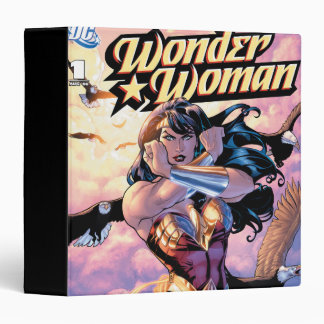 Wonder Woman Comic Cover #1 Binder