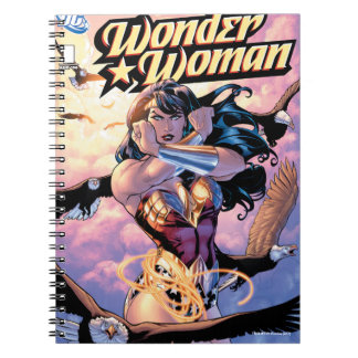 Wonder Woman Comic Cover #1 Spiral Notebook