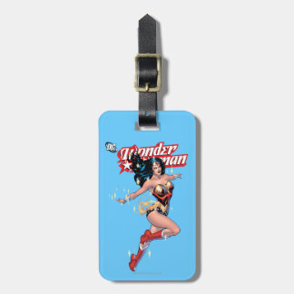 Wonder Woman Comic Cover Bag Tag