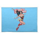 Wonder Woman Comic Cover Cloth Place Mat