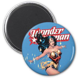 Wonder Woman Comic Cover Magnet