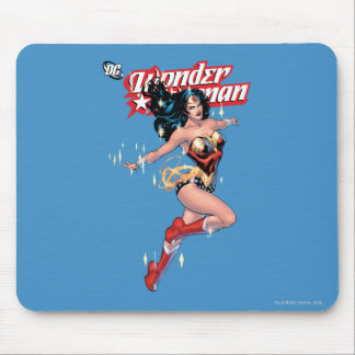 Wonder Woman Comic Cover Mouse Pad