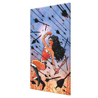 Wonder Woman Cover 1 Gallery Wrapped Canvas