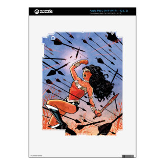 Wonder Woman Cover #1 iPad 3 Skin