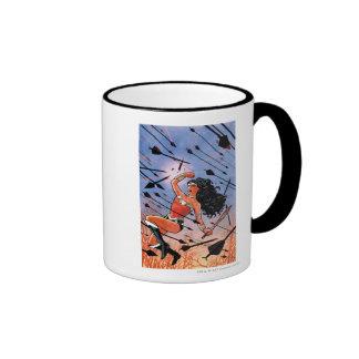 Wonder Woman Cover #1 Ringer Coffee Mug