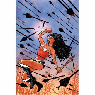 Wonder Woman Cover #1 Photo Cut Outs