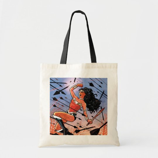 Wonder Woman Cover #1 Tote Bag