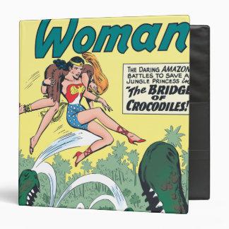 Wonder Woman Crocodiles Binder