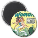 Wonder Woman Crocodiles Fridge Magnets