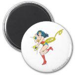 Wonder Woman Cuffs 2 Inch Round Magnet