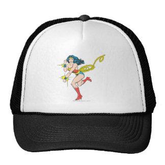 Wonder Woman Cuffs Mesh Hats