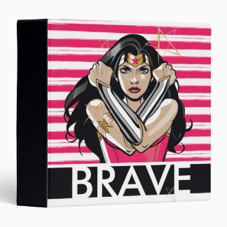 Wonder Woman Defend - Template Binder