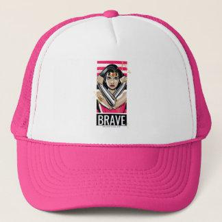 Wonder Woman Defend - Template Trucker Hat