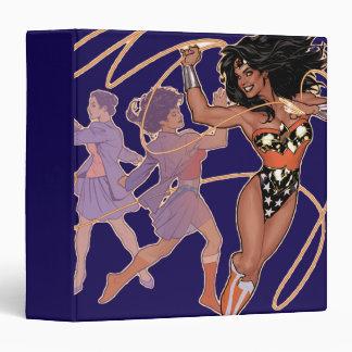 Wonder Woman Diana Prince Transformation 3 Ring Binder