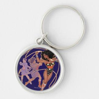 Wonder Woman Diana Prince Transformation Keychain