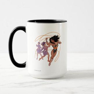 Wonder Woman Diana Prince Transformation Mug