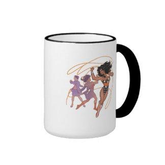Wonder Woman Diana Prince Transformation Ringer Mug