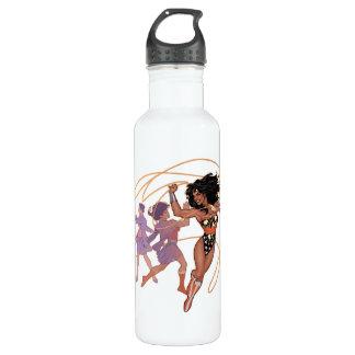 Wonder Woman Diana Prince Transformation Stainless Steel Water Bottle